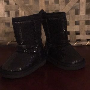 Other - Black sequin boots